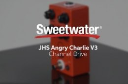 JHS Angry Charlie V3 Channel Drive Pedal Review by Sweetwater
