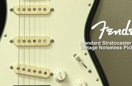 Fender Standard Stratocaster with Vintage Noiseless Pickup Mod Review...