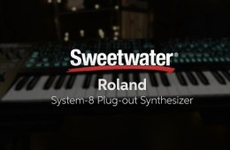 Roland System-8 Plug-out Synthesizer Demo