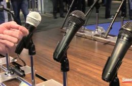 Shure PG Alta Microphone Line – Sweetwater at Winter NAMM 2015