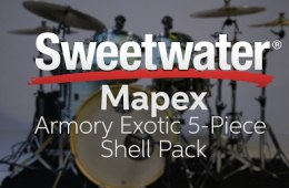 Mapex Armory Exotic 5-piece Shell Pack Review