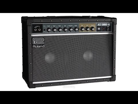 Roland JC-40 Combo Amp Review by Sweetwater   Sweetwater