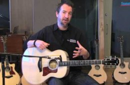 Taylor 618e Grand Orchestra Acoustic-electric Guitar Demo