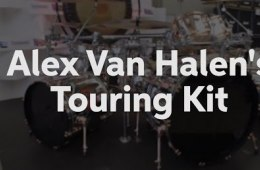 Alex Van Halen's Touring Kit at Sweetwater GearFest 2016