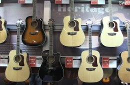 Winter NAMM 2016: Washburn Heritage Series Acoustic Guitars