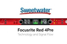 Focusrite Red 4Pre Technology and Signal Flow