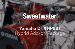 Yamaha DTXHP587 Hybrid Add-on Electronic Drum Package Review by Sweetwater