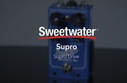 Supro Drive Pedal Review by Sweetwater