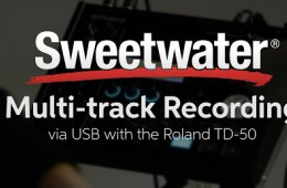 How to Record Multitrack Audio via USB with the Roland TD-50 Drum Module