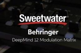 Behringer DeepMind 12 Modulation Matrix