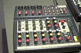 Soundcraft NotePad Mixers Winter NAMM 2010 Demo