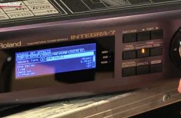 Roland Integra-7 SuperNATURAL Sound Module Demo