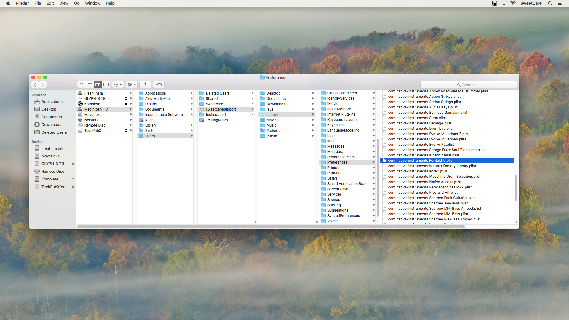 How to Clean Uninstall Native Instrument Products under OS X