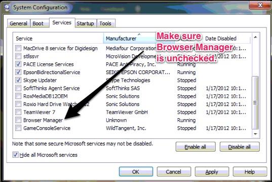 что такое browser manager