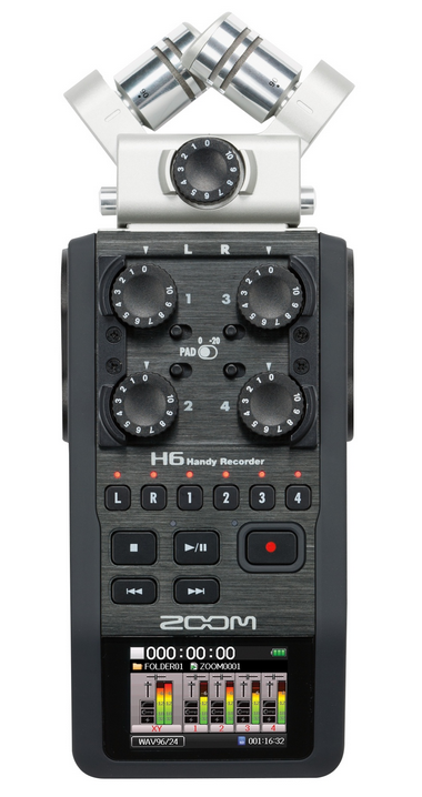 Using the Zoom H6 as an audio interface   Sweetwater