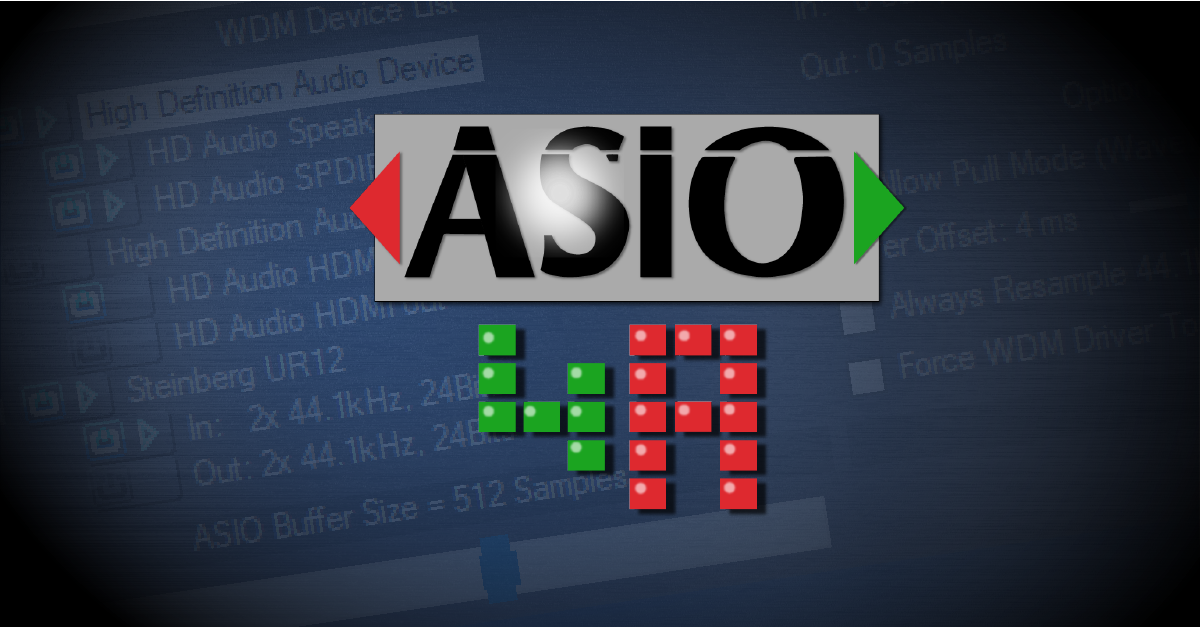 Installing and Using ASIO4all for Windows | Sweetwater