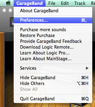 I'm getting feedback when I try to record in Garageband