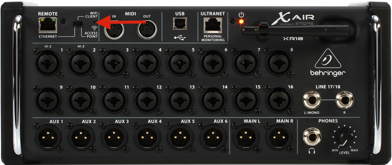 how do i reset my behringer x air mixer to factory settings sweetcare. Black Bedroom Furniture Sets. Home Design Ideas