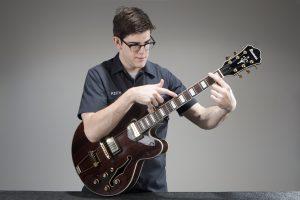 Guitar Tech performing Tap Test