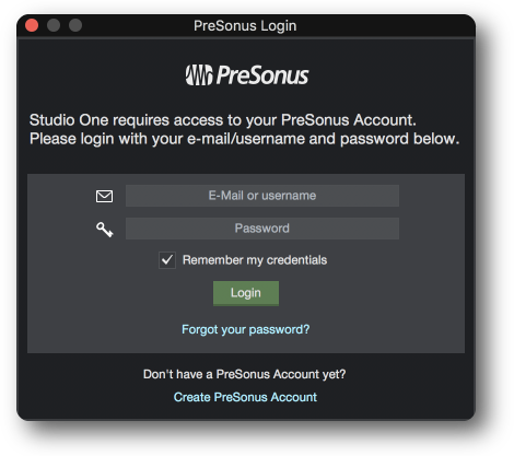 presonus studio one activation key