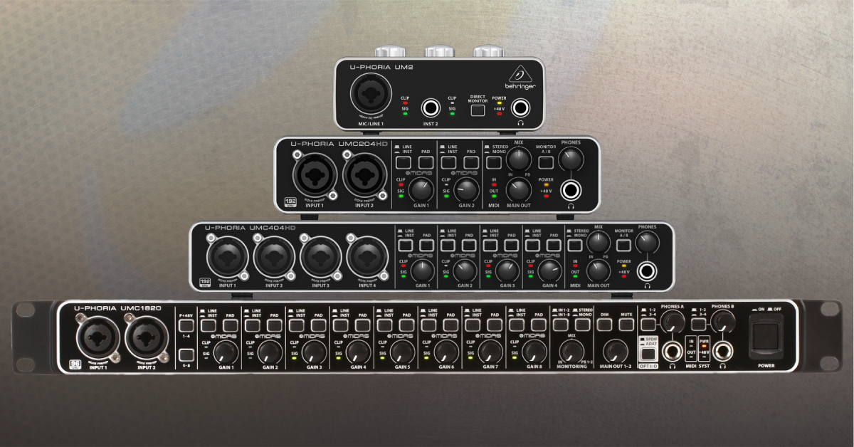 BEHRINGER UMC404 AUDIO DRIVERS