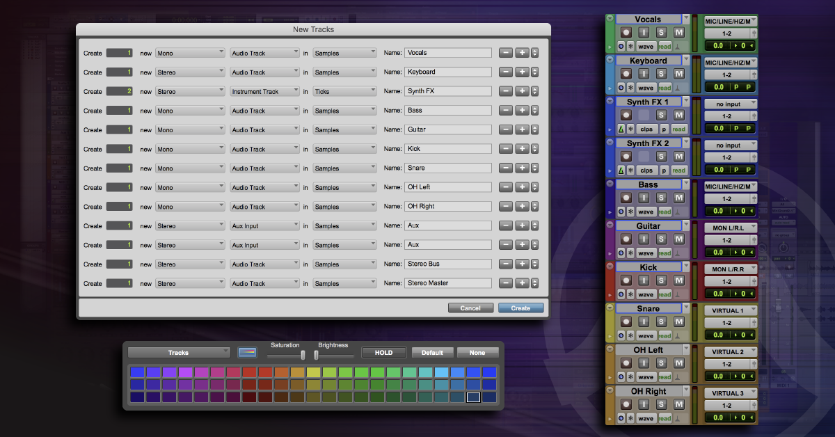 How to Create Tracks in Pro Tools | Sweetwater