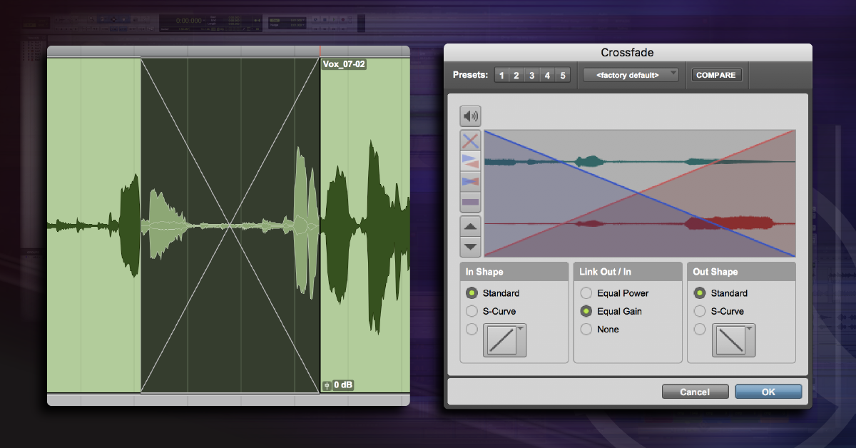 How to Use Crossfades in Pro Tools | Sweetwater