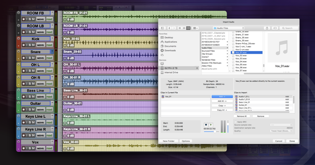 How to Import Audio in Pro Tools | Sweetwater