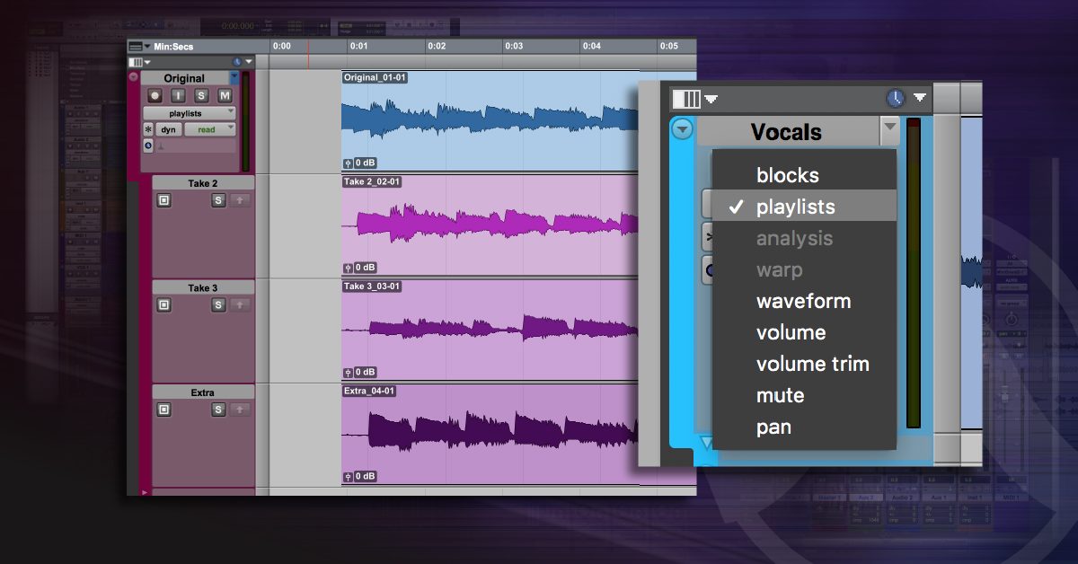 How to Use Playlists in Pro Tools | Sweetwater
