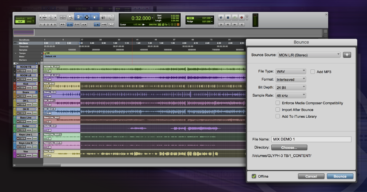 How to Bounce Tracks in Pro Tools | Sweetwater