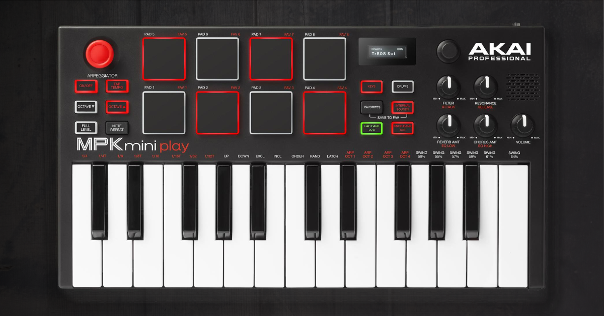 AKAI MPK Mini Play Quick Start Guide | Sweetwater