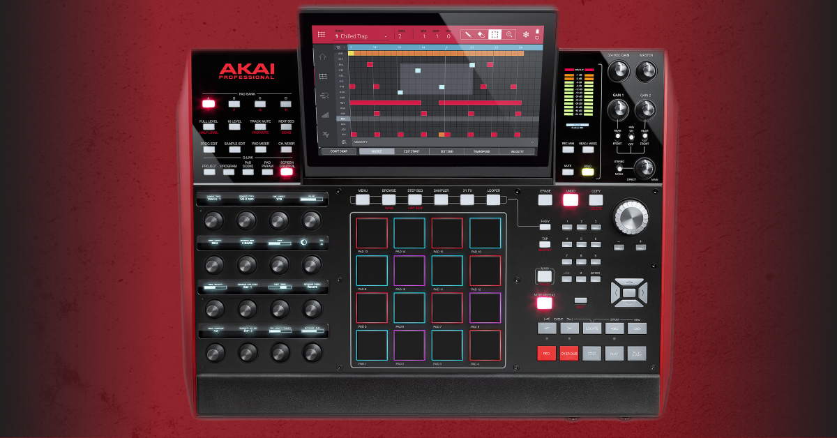 getting started with the akai mpcx sweetwater