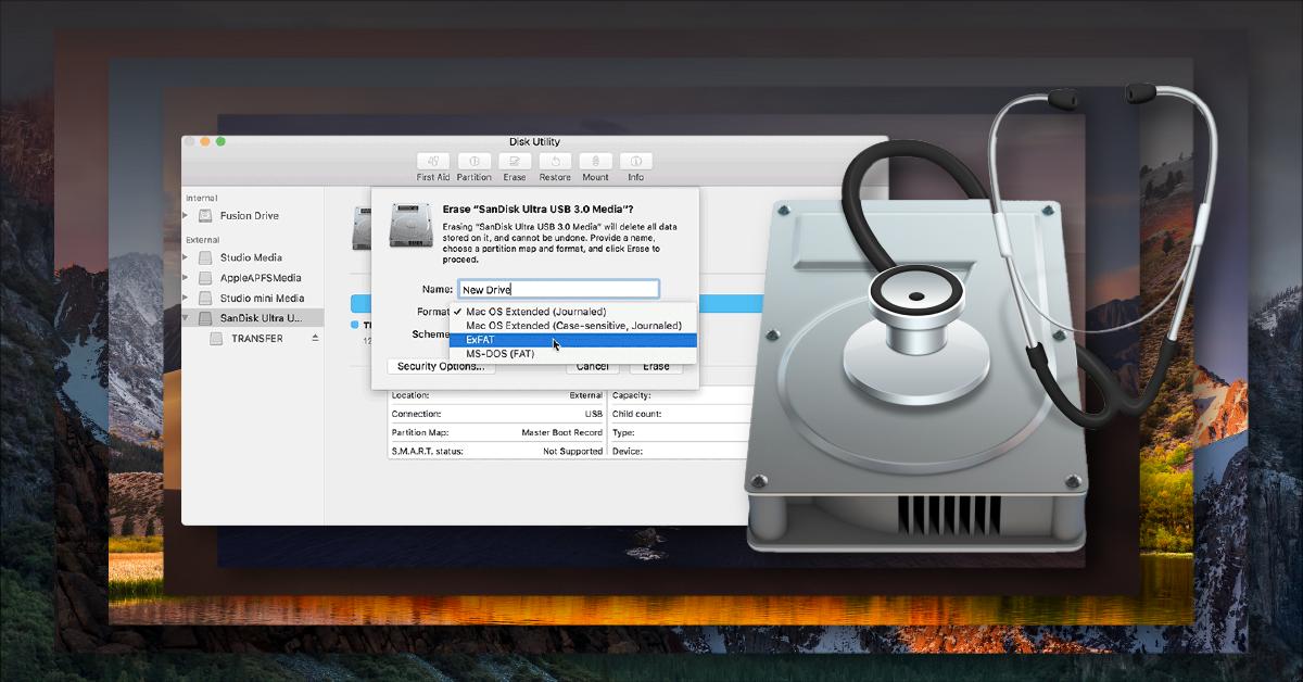 Erase disk and reinstall mac os