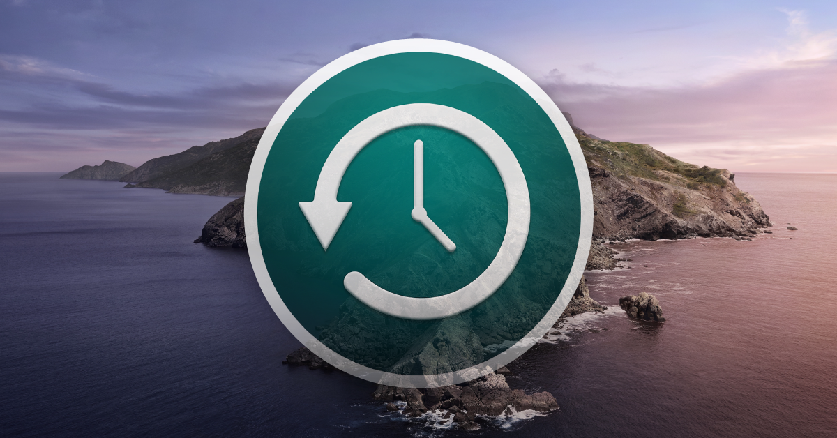 MacOS 10.15 Catalina Time Machine Backup Guide   Sweetwater